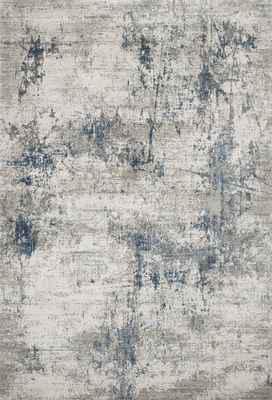 "Loloi Sienne Sie-02 Gray/Silver 3'7"" X 5'7"""