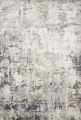 "Loloi Sienne Sie-07 Gray/Silver 5'3"" X 7'8"""