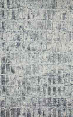 "Loloi Simone Sim-02 Gray/Silver 3'6"" X 5'6"""