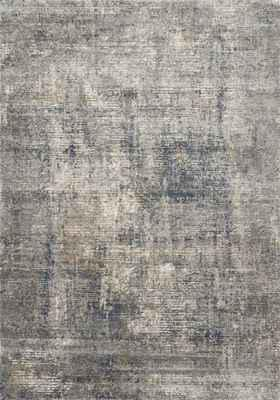 """Loloi Teagan Tea-05 Gray/Silver 2'8"""" X 4'0"""""""