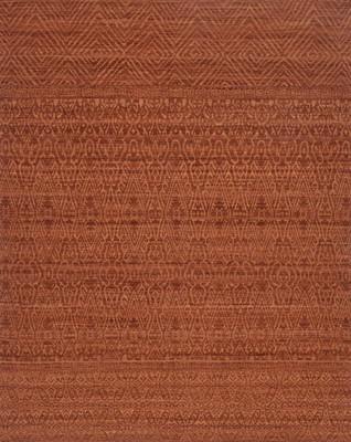 "Loloi Tribu Tj-02 Orange/Rust 5'0"" X 7'6"""
