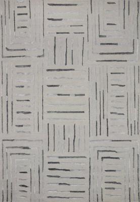"Loloi Verve Ver-02 Gray/Silver 5'0"" X 7'6"""