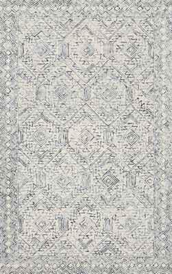 "Loloi Ziva Zv-03 White/Ivory 3'6"" X 5'6"""