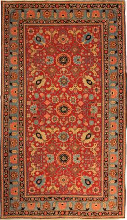 """Hand Knotted Persian 375-11890 Wool 5' x 8'9"""" Red"""