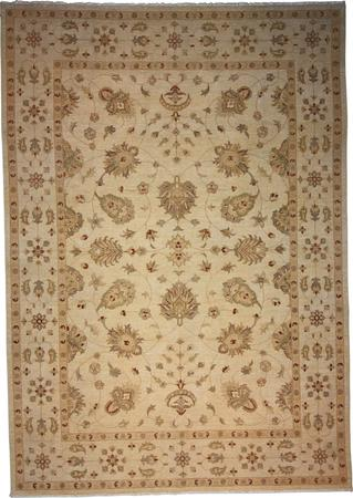 """Hand Knotted India Wool Indian Beige Rug 8'2"""" x 11'8"""""""