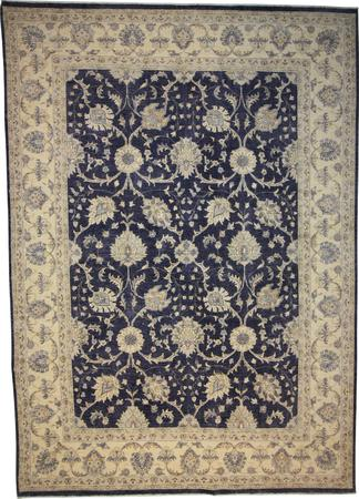 Hand Knotted Pakistan Wool 8'9''x12'2'' D.GREY