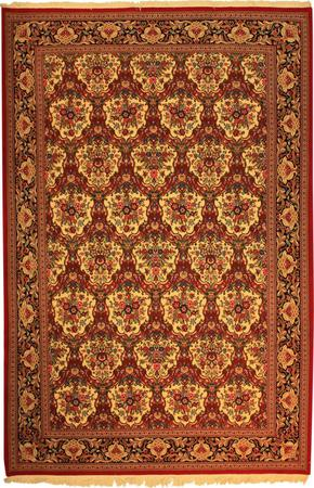 """Hand Knotted Persian  Wool 6'8"""" x 10'2"""" Ivory"""