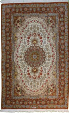 """Hand Knotted Persian  Wool 4'2"""" x 6'6"""" Gray"""