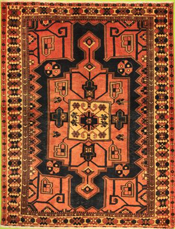 """Hand Knotted Persian  Wool 4'6"""" x 6'6"""" Brown"""