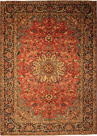 """Hand Knotted Persian  Wool 7'9"""" x 11' Red"""