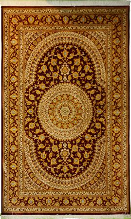 Hand Knotted Persian  Wool 4'2