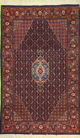 Hand Knotted Persian mahi Wool 3'4