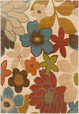 """Oriental Weavers Emerson 2040A Beige/Tan 7'10""""X10'0"""""""