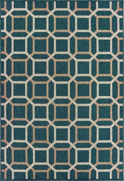 Oriental Weavers Latitude 806B3 Blue/Navy