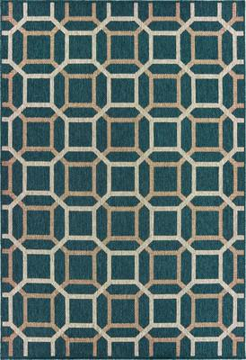 Oriental Weavers Latitude 806B3 Blue/Navy