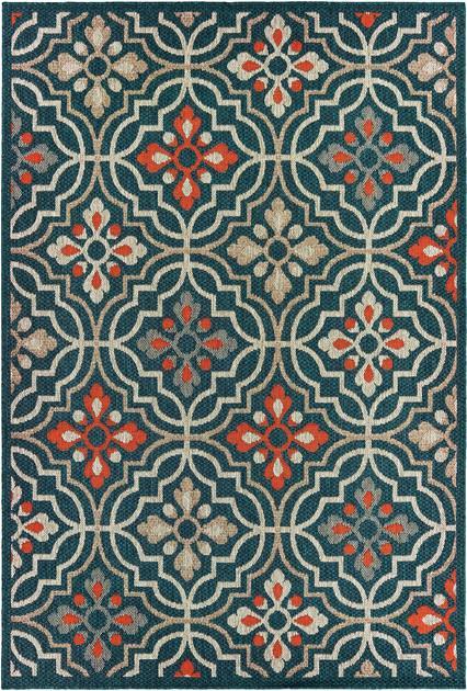 Oriental Weavers Latitude 709B3 Blue/Navy