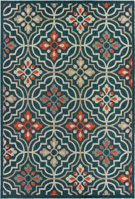 Oriental Weavers Latitude 709B3 Blue/Navy
