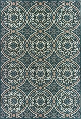 Oriental Weavers Latitude 609B3 Blue/Navy