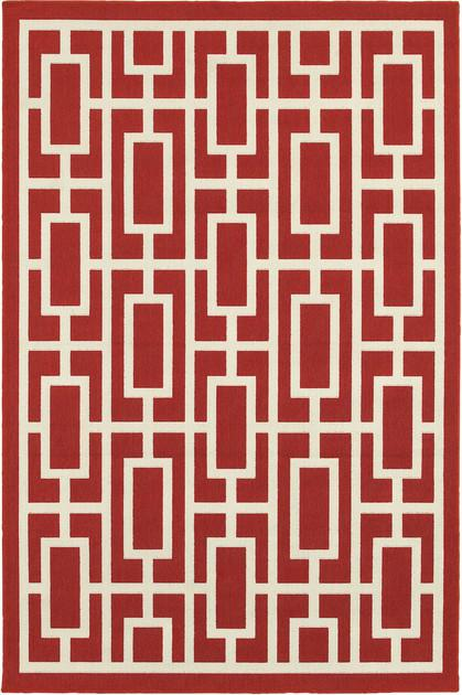 Oriental Weavers Meridian 9754R Red/Burgundy