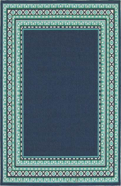 Oriental Weavers Meridian 9650B Blue/Navy