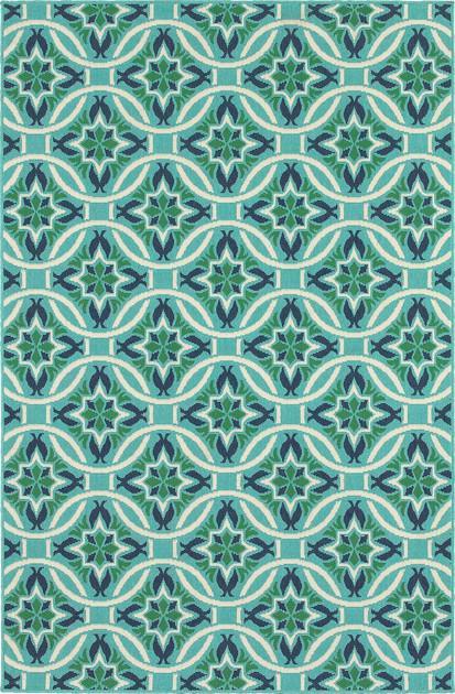 Oriental Weavers Meridian 5868L Blue/Navy