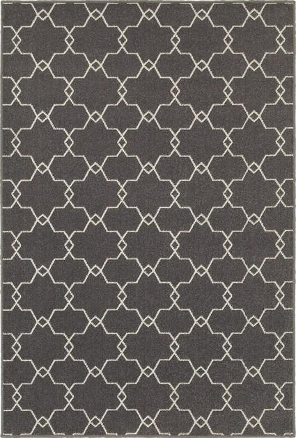 Oriental Weavers Hampton 537E5 Gray/Silver