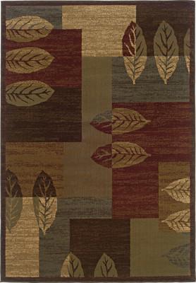 """Oriental Weavers Tybee 2360R Brown 8'2""""X10'0"""""""