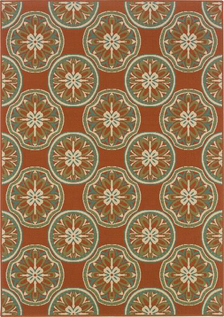 Oriental Weavers Montego 8323D Orange/Rust
