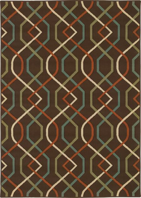 Oriental Weavers Montego 896N6 Brown