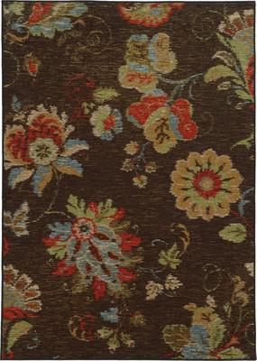 """Oriental Weavers Arabella 41908 Brown 7'10""""X10'0"""""""