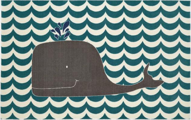 Mohawk Aurora (Kids) Oh Whale Blue/Navy