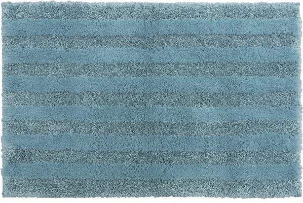 Mohawk Basic Stripe Bath Rug Basic Blue/Navy