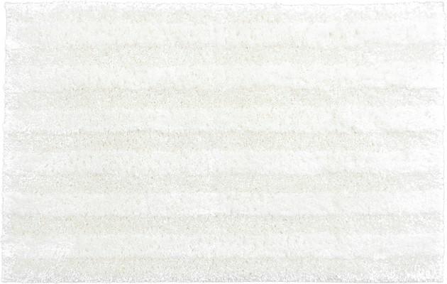 Mohawk Basic Stripe Bath Rug Basic White/Ivory