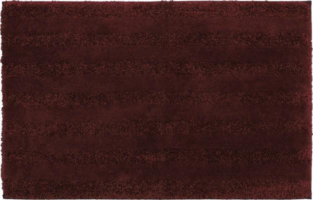 Mohawk Basic Stripe Bath Rug Foliage1 Red/Burgundy
