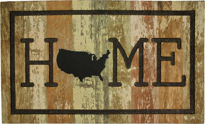 Mohawk Doorscapes Mat Home USA Beige/Tan