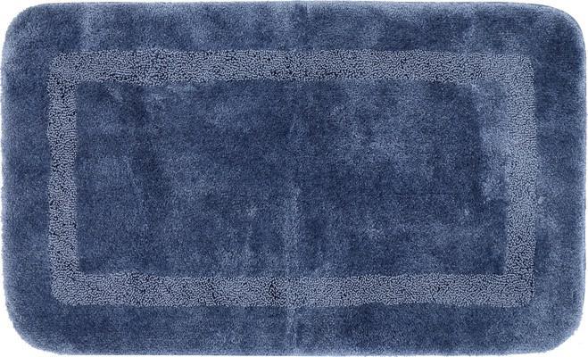 Mohawk Facet Bath Rug Facet Blue/Navy