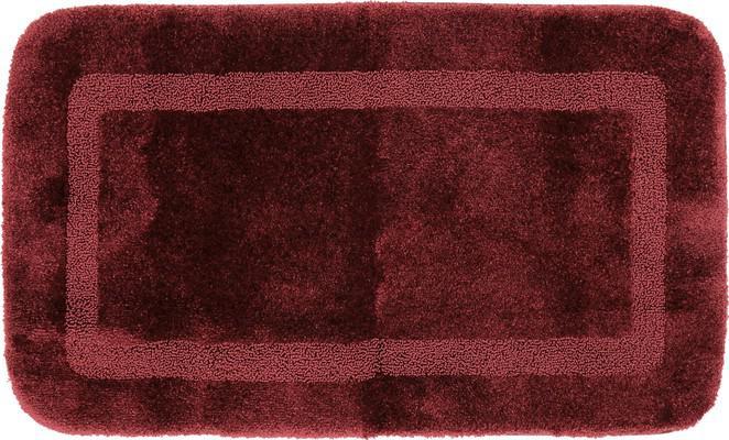 Mohawk Facet Bath Rug Facet Red/Burgundy