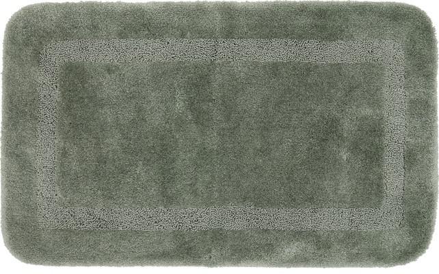 Mohawk Facet Bath Rug Facet Gray/Silver