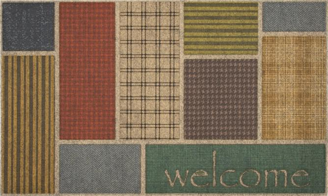 Mohawk Ornamental Entry Mat Welcome Impressions Multi