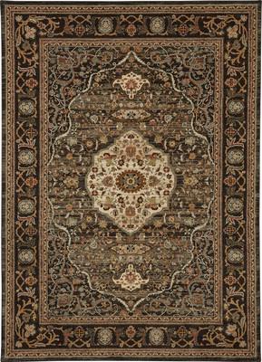"Karastan Spice Market Petra Brown 12'0"" X 15'0"""