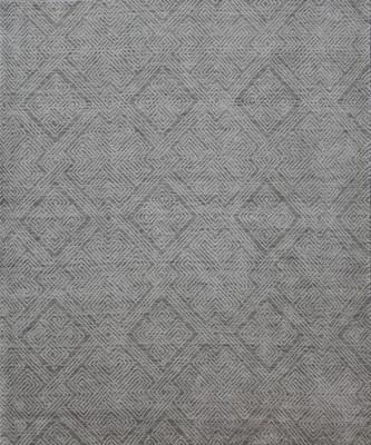 """Kally Anglesite Kal-504-Angl-tyq Gray/Silver 2'0"""" X 3'0"""""""