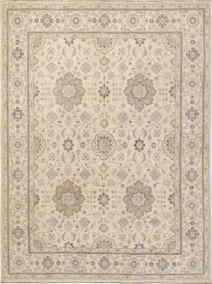 "Kally Annite Kal-272-Anni-dgn White/Ivory 9'0"" X 12'0"""