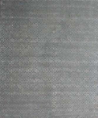 """Kally Nyerereite Kal-507-Nyer-rsc Gray/Silver 5'0"""" X 7'0"""""""