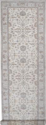 "Kally Annite Kal-272-Anni-dgn White/Ivory 4'1"" X 14'1"""