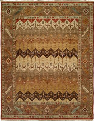 "Kally Anorthite Kal-046-Anor-uaa Brown 12'0"" X 18'0"""
