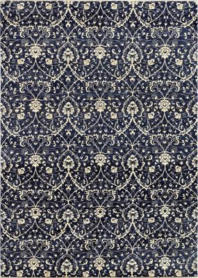 "Kally Annite Kal-272-Anni-dgn Blue/Navy 10'1""X14'0"""