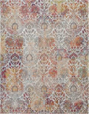 "Nourison Ankara Global ANR06 Beige/Tan 2'0"" X 4'0"""