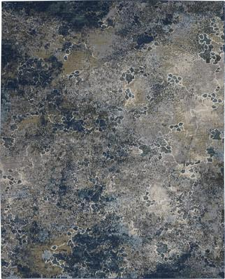 "Nourison Artworks ATW02 Blue/Navy 7'9""X9'9"""