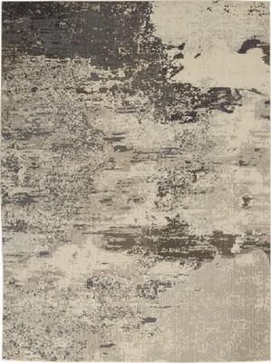 Nourison Celestial CES02 Gray/Silver