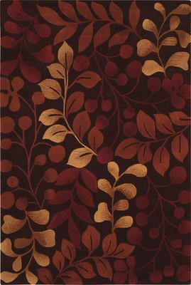 Nourison Contour Con02 Brown